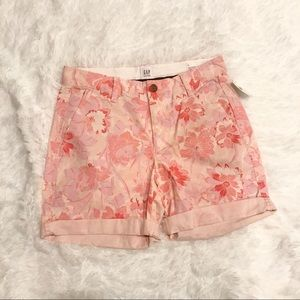Gap Floral Girlfriend Shorts
